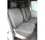 VW Transporter T5 van seat covers- made to measure in seating fabric